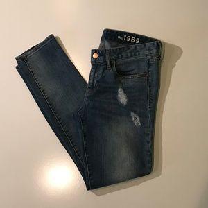 GAP 1969 Always Skinny Jeans